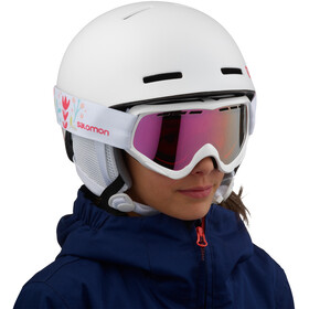Salomon Grom Casco Niños, white
